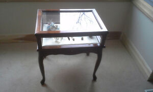 Display cabinet for curio's in great condition