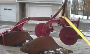 2 FURROW PLOW FOR 3 POINT HITCH $500 in good condition
