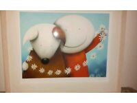 """Doug Hyde """"Daisy Chain"""" limited edition signed print"""