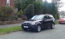 BMW X3 2.0D SE 5 Dr Black