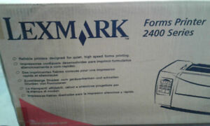 Lexmark 2400 Series Forms Printer (NEW in box)