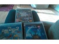 Ps3 games and a Blu-ray DVD