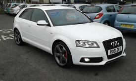 2011/61 Audi A3 2.0TDI ( 170ps ) S Tronic 2011 Black Edition