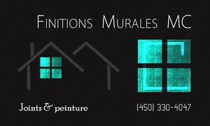 Finitions Murales MC - Peintres & plâtriers Saint-Hyacinthe Québec image 1