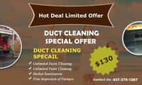 Hot Deal Duct Cleaning And Unlimited Vents Free Sanitization