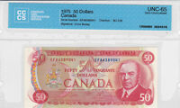 1975 canadian 50 dollar bank note