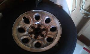 2012 Chevrolet Silverado 5 stock rims and tires for sale!!