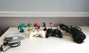 Xbox with Kinect and games