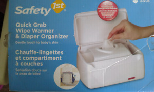 Wipe Warmer and Diaper Organizer for Sale..