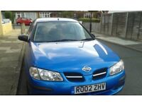 NISSAN ALMERA 2002 BARGAIN PRICE (ONLY 66,000 MILES)