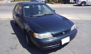 1999 Toyota Corolla LE Sedan - REDUCED