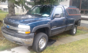 O1 Silverado 2500hd $1000 obo(mechanics take note)