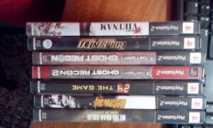 PS2 Shooter / Adventure Lot