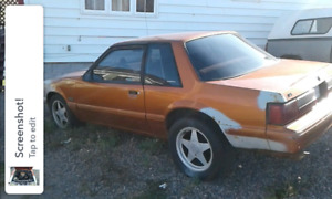1989 Mustang for trade or sell!!