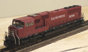 HO DCC Athearn Genesis SD70M - Electro Motive / EMD Lease