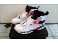 AIR JORDAN 8 RETRO '2013 RELEASE' USED IN EXCELLECT CONDITIONS