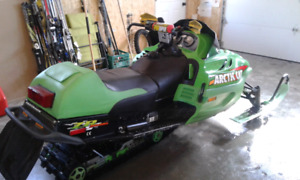2002 ARCTIC CAT ZR 800 Trade for 5/600cc
