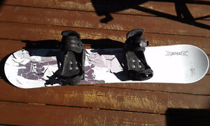 SNOWBOARD AND SHOES