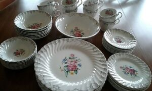 Ironstone Snowhite Regency Dinnerware by Johnson Bros.