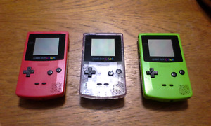 GameBoy Colors and Games