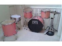 drumkit..pink