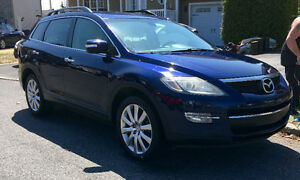 Mazda CX9 2008, AWD, cuir, 7 passagers