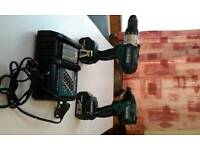 Makita brushless driver and drill