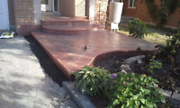 Hectors stamp concrete,slabs&walkways