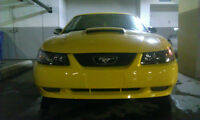 2004 Ford Mustang 40th anniversary edition 5sp manual