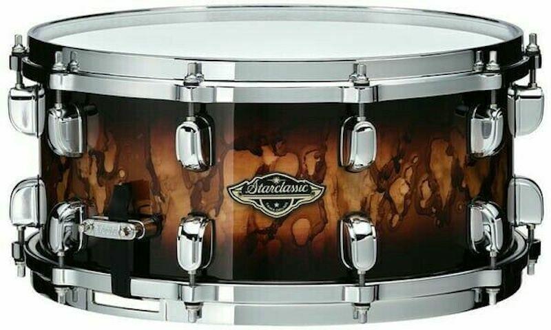 Tama Starclassic Walnut/Birch 14x5.5 Snare Drum - Molten Brown Burst