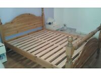 FREE!! KING SIZE PINE BED