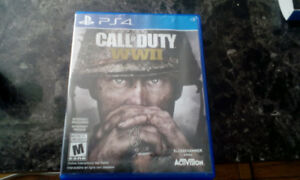 Call Of Duty WW2 for PlayStation 4. Great Shape