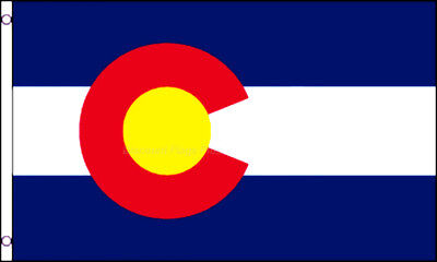 Colorado State Flag 3x5 Polyester