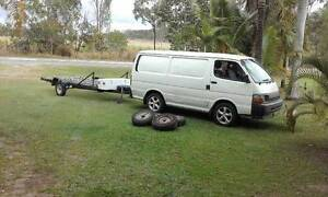 motorbike transport vehicles used for interstate deliveries Mackay Mackay City Preview