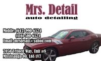 Mrs. Detail Auto Detailing | Car Wash | Car Cleaning | Hand Wash