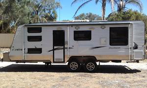 2012 Retreat Daydream triple bunk caravan Coodanup Mandurah Area Preview