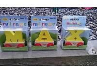 Bigjigs MAX train letters
