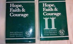 Hope Faith & Courage 1 and 2