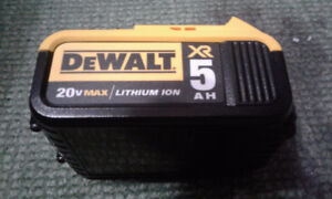 NEW Dewalt 20V 5AH Battery