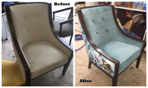 Re-upholstery & refinish  services