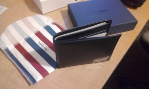 Pierre Cardin Wallet Genuine Leather Black