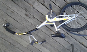 Supercycle Tag-A-Long Ride-A-Long Bike Trailer