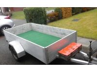 Trailer 8x4 all aluminium excellent condition