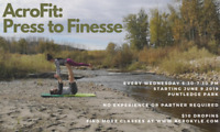 AcroFit: Press to Finesse. Outdoor Fitness Class