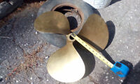 BRASS PROPELLER with measurements