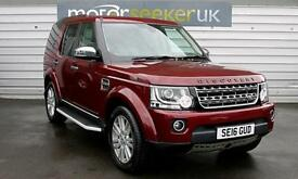 2016 Land Rover Discovery 4 SE Commercial Sd V6 Auto 5 door Commercial