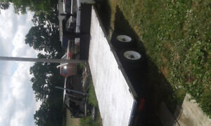 Nice towing 5th wheel deck over trailer