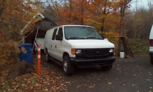 Ford E250 2007 full equiped