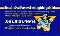 Kevin's Eavestroughing Ltd