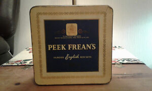 Peek Frean's biscuits tin